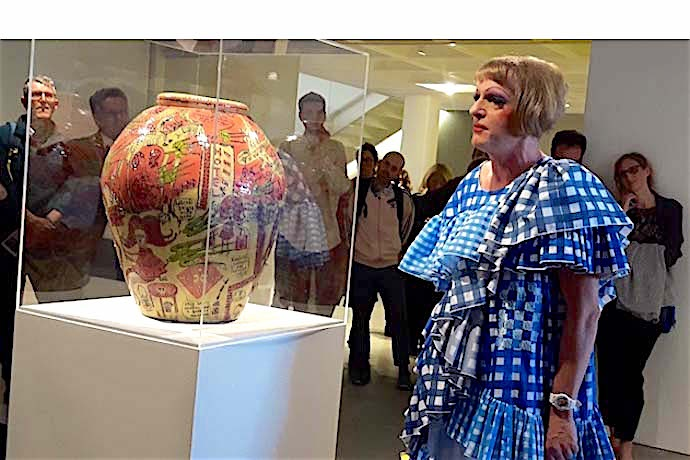 Grayson Perry tour ignites the Arnolfini galleries