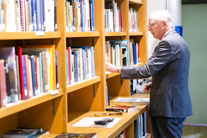 HRH visits the Library at Brunel's SS Great Britain